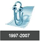 Clipy, asistente de MS-Office, fallecido desde la última versión 2007
