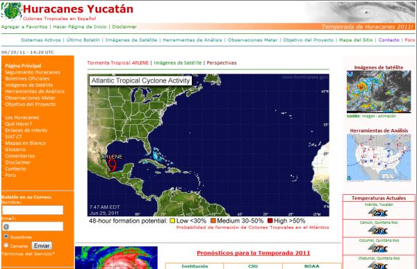 HuracanesYucatan.com