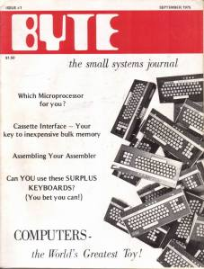 BYTE vol 1 num 1