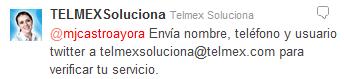 @mjcastroayora Envía nombre, teléfono y usuario twitter a telmexsoluciona@telmex.com para verificar tu servicio.